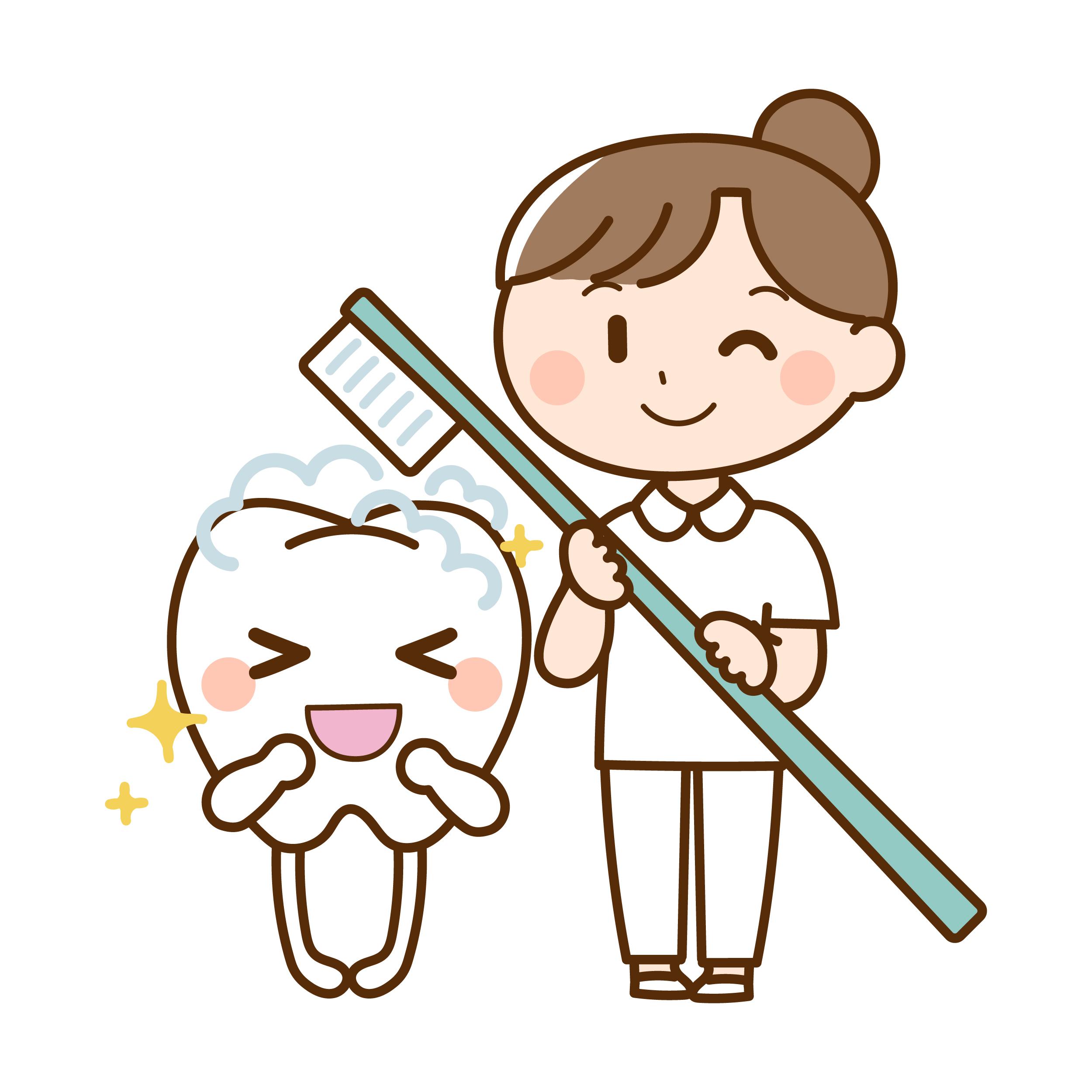 衛生士さんと歯